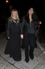 Lisa Gastineau Joins daughter Brittny Gastineau for dinner at Craig