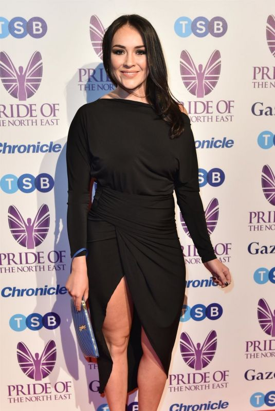 Lola Saunders At Pride of the North East Awards in Newcastle