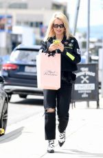 Lottie Moss Shopping at Agent Provocateur in LA