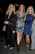 Lucy Fallon Enjoys a Girls Nightout at Neighboughood bar in Manchester