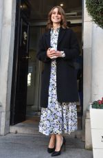 Lucy Fry At The Merrion Hotel in Dublin, Ireland