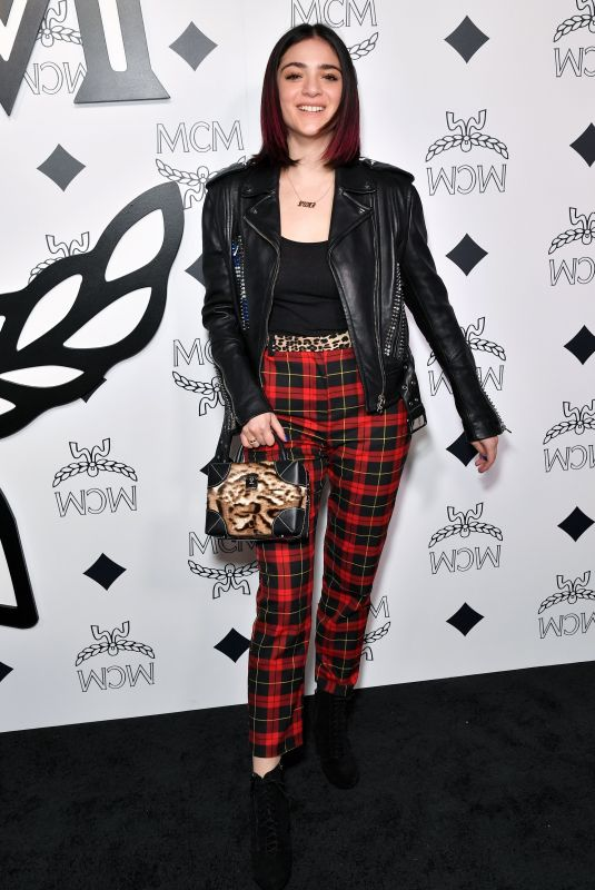 Luna Blaise At MCM Beverly Hills Store Opening, Los Angeles