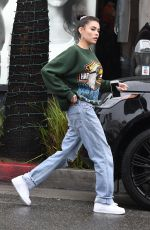 Madison Beer Has Lunch at The Cheesecake Factory in Los Angeles
