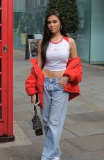 Madison Beer Out and about in London