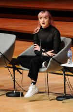 Maisie Williams At Women of the World Festival (WOW) at the Southbank in London