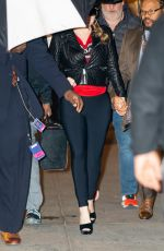 Mariah Carey Arriving at Radio City Music Hall in NYC