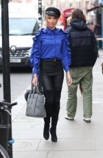 Megan McKenna Out and about on Dean Street Town House in Soho