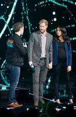 Meghan Duchess of Sussex At WE Day UK, SSE Arena, Wembley, London