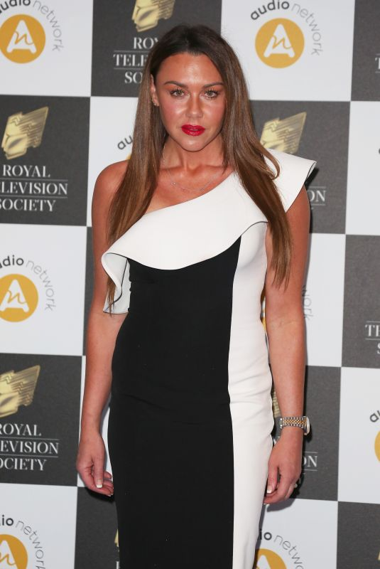 Michelle Heaton Attends The Royal Television Society Programme Awards 2019 ( RTS Awards ) at the Grosvenor House Hotel in London