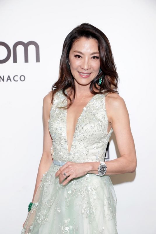Michelle Yeoh At amfAR Gala in Hong Kong