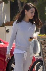 Mila Kunis Leaving Sunset City Nails in LA