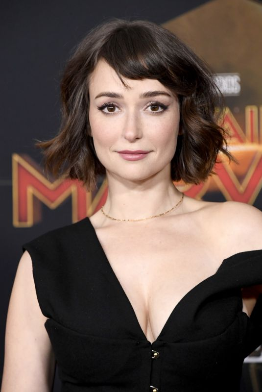 Milana Vayntrub At the Captain Marvel Premiere in Hollywood