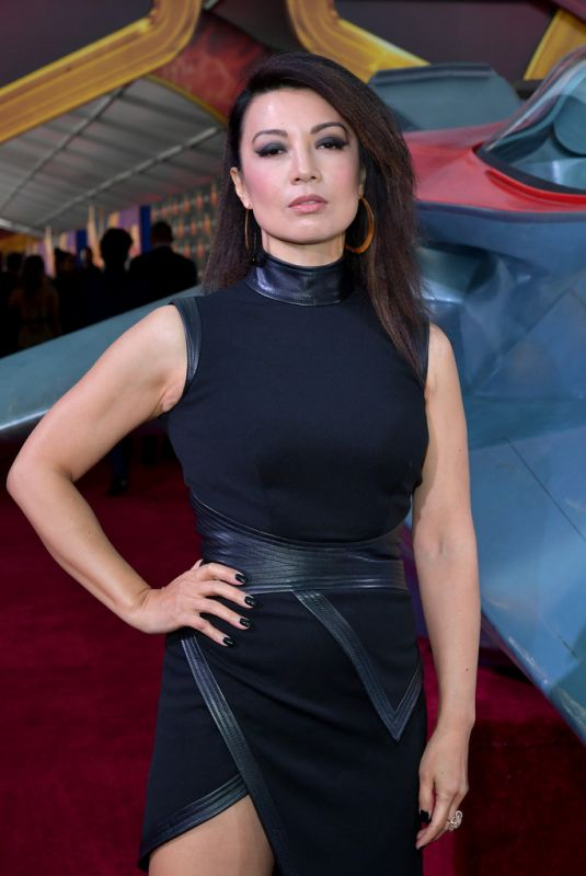 Ming-Na Wen At Captain Marvel Premiere in Hollywood