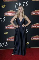 Mollee Gray At 'Cats' Opening Night Performance in Hollywood