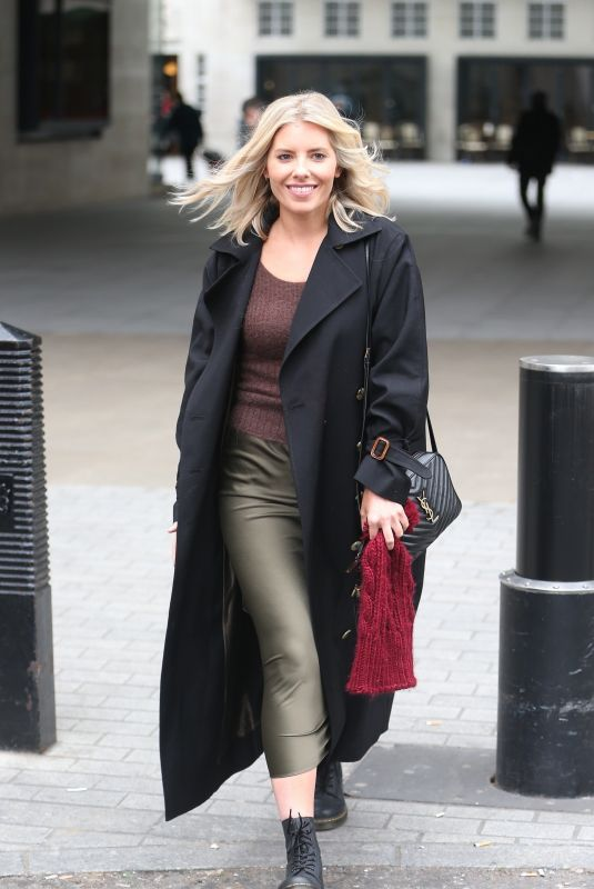 Mollie King At BBC Radio 1 in London