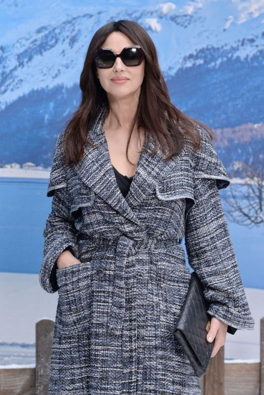 Monica Bellucci At Chanel Show at the Paris Fashion Week