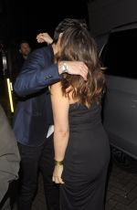Myleene Klass and Mark Ronson leave The Global Awards at the Eventim Apollo