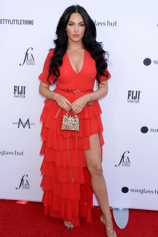 Natalie Halcro At The Daily Front Row