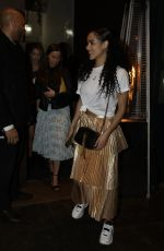 Nathalie Emmanuel At birthday party at Ours restaurant in London