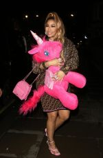 Nicki Minaj Leaving the Opium Restaurant & Club in London