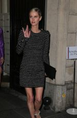 Nicky Hilton Arriving at the Vogue Party in Paris