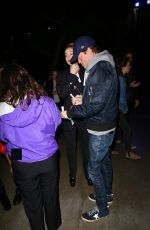 Nicola Peltz Arrives with a friend at the Staples Center for a Justin Timberlake concert in LA