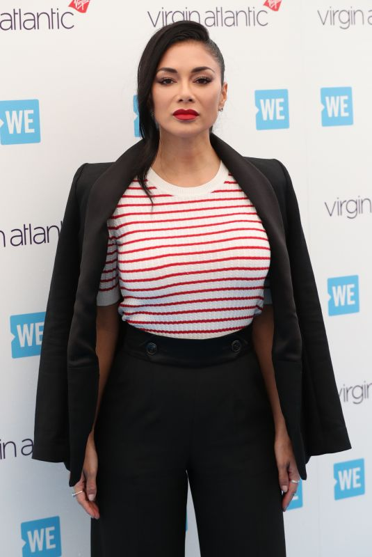 Nicole Scherzinger At WE Day UK 2019 at The SSE Arena in London