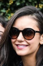 Nina Dobrev Out and about in Paris