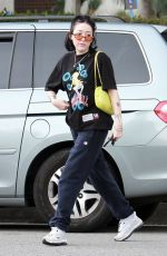 Noah Cyrus and a friend grab lunch at Joan