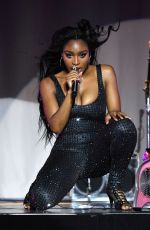 Normani Kordei Performing on the Sweetener Tour by Ariana Grande in Albany