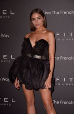 Olivia Culpo At La Nuit by Sofitel Party with CR Fashion Book in Paris