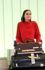 Olivia Culpo At LAX Airport in Los Angeles