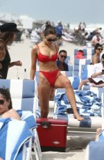 Olivia Culpo In bikini on the beach in Miami