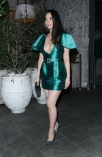 Olivia Munn Outside the Hollywood Reporter dinner at Avra in Beverly Hills