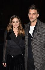 Olivia Palermo Arriving at the Tommy Hilfiger fashion show in Paris