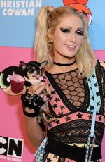 Paris Hilton At Christian Cowan x The Powerpuff Girls Runway Show in Los Angeles
