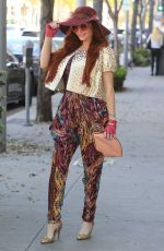 Phoebe Price Goes shopping in Beverly Hills