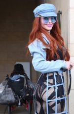 Phoebe Price Out in Beverly Hills