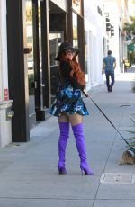 Phoebe Price Out in Los Angeles
