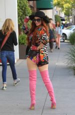 Phoebe Price Shopping in Beverly Hills