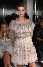 Pixie Geldof At Giambattista Valli show, Fall Winter 2019, Paris Fashion Week