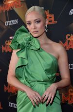 Pom Klementieff At Captain Marvel Premiere in Hollywood