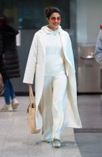 Priyanka Chopra At JFK Airport in New York City