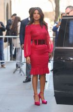 Priyanka Chopra Stops by The View in NYC