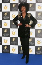 Rachel Adedeji Attends The Royal Television Society Programme Awards 2019 at the Grosvenor House Hotel in London