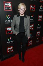 Rachel Harris Attends the Good For A Laugh Comedy Benefit in support of children affected by war at Largo in Los Angeles
