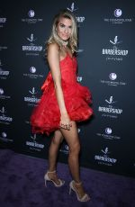 Rachel McCord At Grand Opening Weekend The Barbershop Cuts and Cocktails in Las Vegas