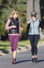 Reese Witherspoon Jogging in LA