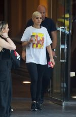 Rita Ora Leaving her hotel in Melbourne