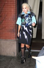 Rita Ora Rocks a colorful look for the night in NYC